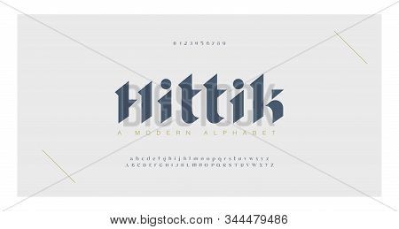 Elegant Awesome Alphabet Letters Font And Number. Classic Lettering Minimal Fashion Designs. Typogra