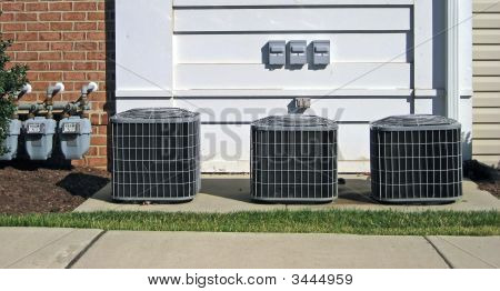 Air Conditioning Units, Power Meters