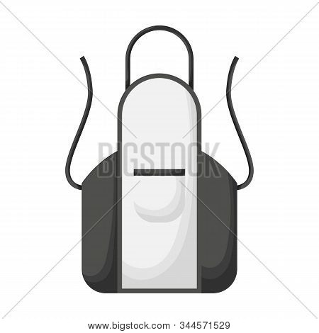 Apron Vector Icon.cartoon Vector Icon Isolated On White Background Apron .