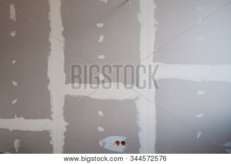Drywall Background During Flat Renovation - Dry Wall Room Renovation