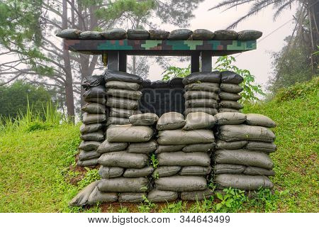 Air Raid Shelters Or Bomb Shelters Are Structures For The Protection Of Soldiers In The War