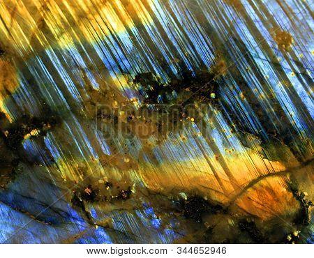 Labradorite Mineral Texture