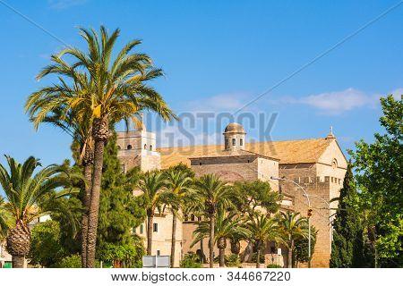 Saint Jaume Church, Alcudia, Majorca, Balearic Islands, Spain