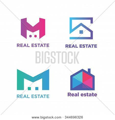 Logo For Company, Real Estate And Buildings