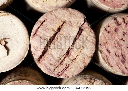 Wine Corks Stack