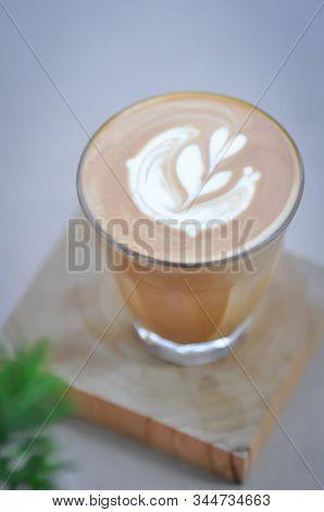 Cappuccino, Hot Cappuccino Or Hot Coffee Or Piccolo Latte