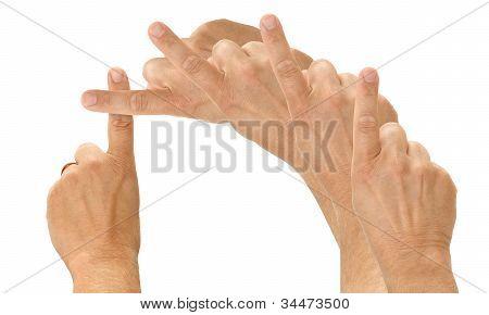 Christian Finger Cross