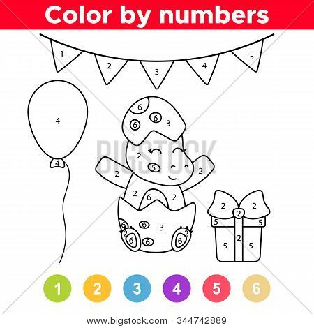 coloring page baby vector photo free