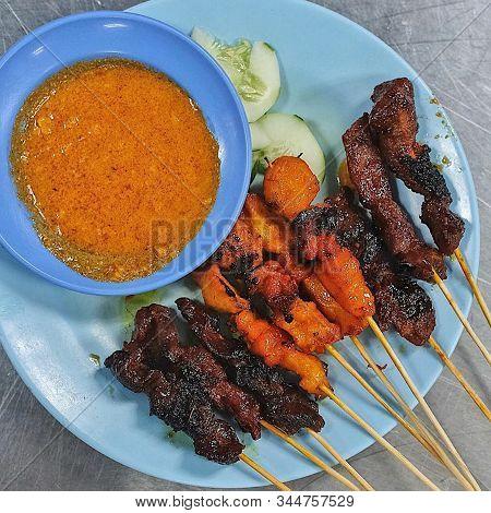 Sate Street Food In Malaysia Mamak Shop