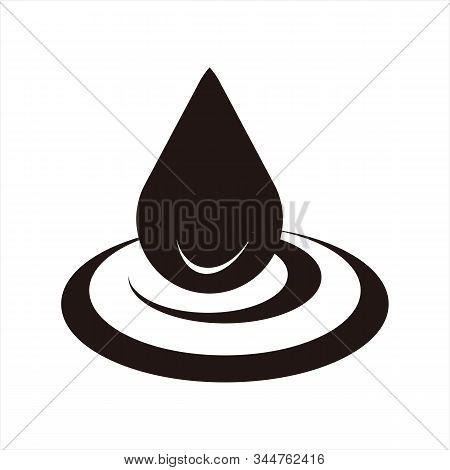 Water Icon. Isolated On A White Background. Trendy And Modern Icons. Symbol For Graphic. Design Icon