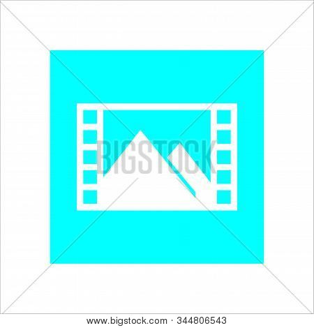 Minimalist Pictures Pictures Suitable For Web, Desaign And Applications With A White Background