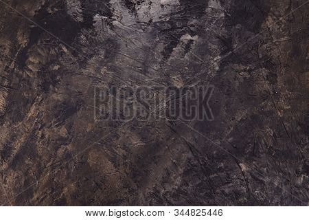 Beautiful Abstract Grunge Background. Decorative Dark Brown Background. Brown Textured Background. C
