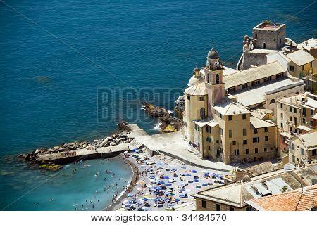 coast of Liguria Camogli