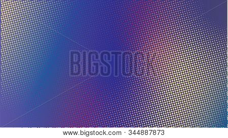 Colorful Halftone Background Design Template,modern Pop Art, Abstract Dots Pattern Illustration, Vin