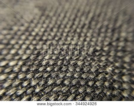 Background Or Texture From Single-tone Spark Fabric With Tufts. Macro. Plush Material. Textiles.