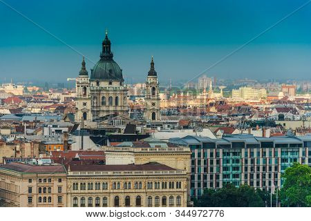 View Of Budapest With St. Stephen's Basilica
