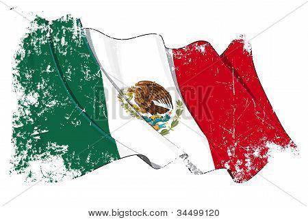 Grange Flag of Mexico