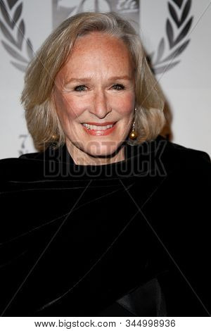 NEW YORK-JAN 6: Actress Glenn Close attends the New York Film Critics Circle Awards at the Edison Ballroom on January 6, 2014 in New York City.