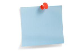 Blue Remainder Note