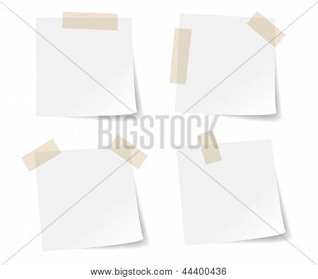 Stick note papers