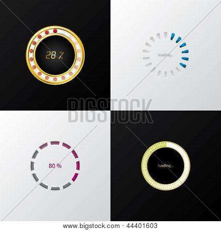 Circle Progress Indicators