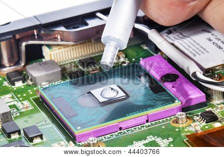 Laptop Video Chip Repair