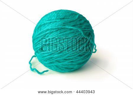 Light Blue Ball Of String