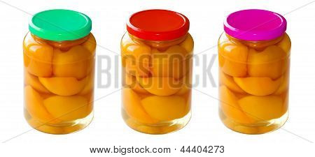 Homemade Canned Summer Fruits