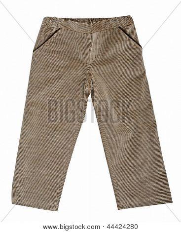 gray fustian pants