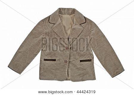 gray fustian jacket