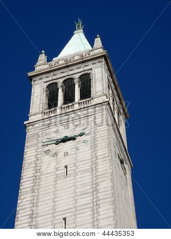 California Campanile Clock Tower, The Sather Tower