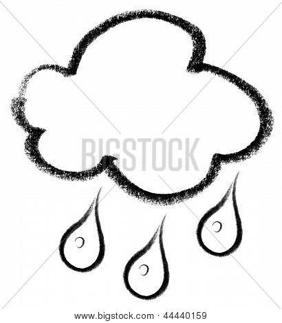 Rainy Cloud Icon