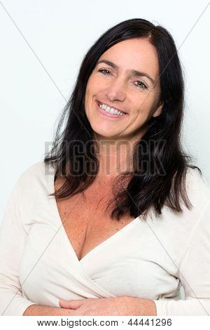 Portrait Of A Good Looking Mature Woman