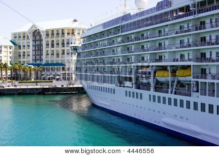 Large Cruise Ship