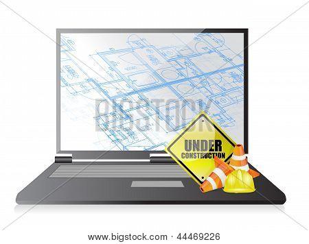 Technology Blueprint Under Construction