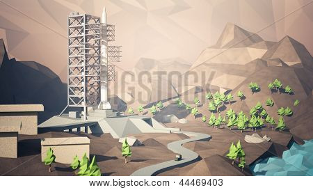 Rocket Launch Site