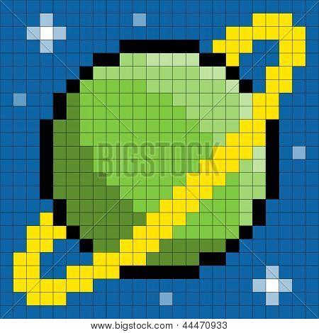 8-bit Pixel Planet
