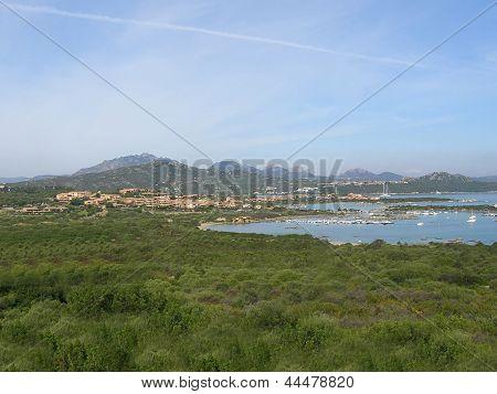 Sardinia - Costa Smeralda coast landscape, Italy