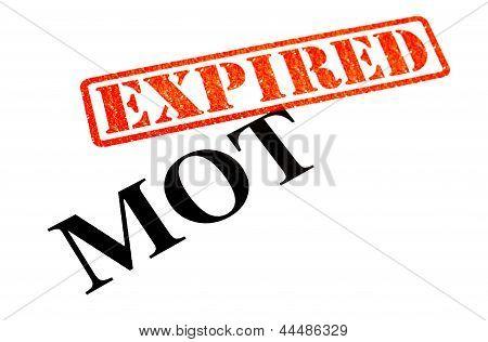 MOT Expired
