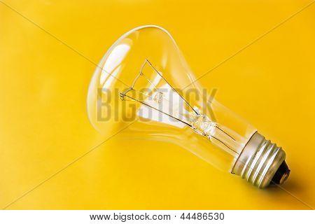 Yellow Lightbulb Background