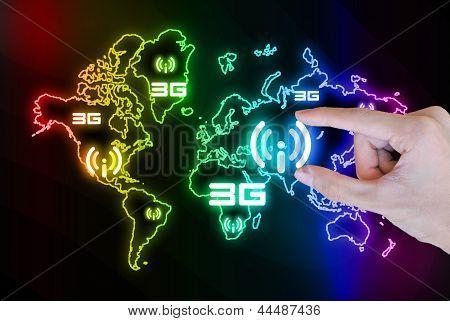 World Wifi 3G Hand