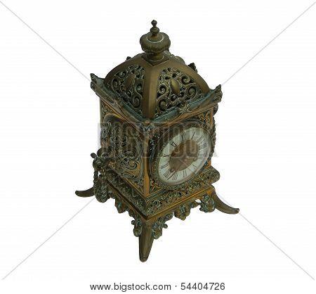 Brass Clock 06