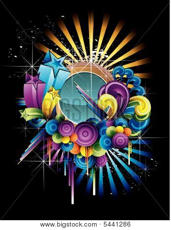 Color Vector Illustration