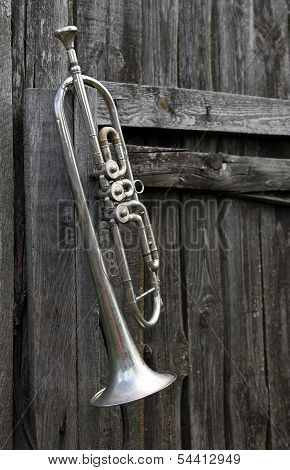 Old Trumpet On The Fence