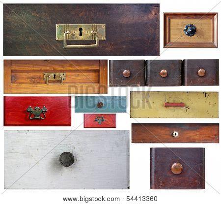 Various Old Drawers