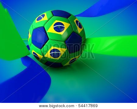 Brazil World Cup Football