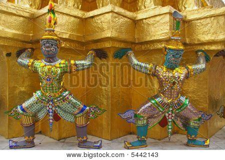 Decor Element, Monkey Warriors
