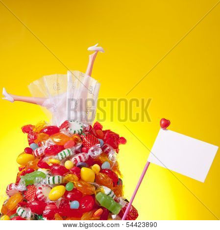 Head Over Heal In Candy And Love
