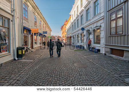 Sunday walk in Gothenburg, Sweden