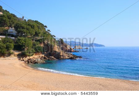 Cala Sant Francesc (costa Brava, Spain)